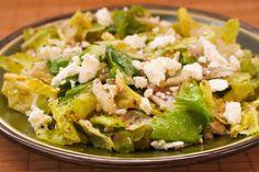 Recipe for Kalamata Olive Vinaigrette and Three Salad Variations [from KalynsKitchen.com]