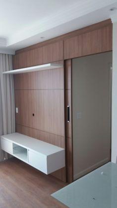 Living Room Tv Unit, Home Living Room, Living Room Designs, Tv Unit Decor, Tv Wall Decor, Bungalow Haus Design, House Design, Lcd Wall Design, Tv Wanddekor