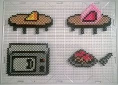 (Ruins) leave its hole and get the cheese. (Snowdin) find a way to heat up the spaghetti. (Waterfall) extract the cheese from. Knowing the mouse might one day. Kandi Patterns, Perler Patterns, Undertale Pixel Art, Easy Pixel Art, Pixel Art Templates, Peler Beads, Vine Compilation, Perler Bead Art, Fuse Beads