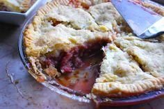 Best Rhubarb Pie Ever