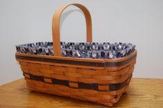 Vintage Longaberger Basket Original Easter by BonnyCollections, $38.00