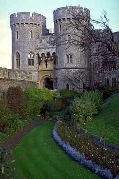 Windsor Castle.  I want to explore the inside of a castle one day.