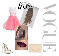 """Formatura"" by marikat03 on Polyvore featuring moda, Accessorize e Casadei"