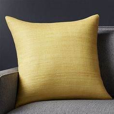 Shop Michaela Saffron Pillow Textural, hand-spun silk in rich, tonal yellow create a touchable, down-to-earth pillow with high-impact style. Layer a few of our luxurious Michaela throw pillows in vivid colors and subtle neutrals.