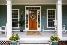 Happy St. Patrick's Day! To celebrate, here's a roundup of home #photography featuring hues of #green from the House Plans Blog http://houseplansblog.dongardner.com/home-color-trend-hues-of-green/
