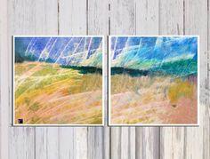 גשם ראשון - הדפס על קנבס | My Art | מרמלדה מרקט