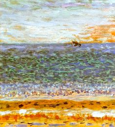 Pierre Bonnard - The Sea, C.1944