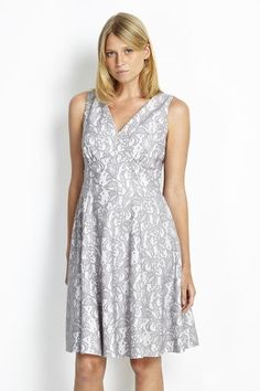 Petite Grey Lace Prom Dress #wallisfashion #perfectlypetite #SS16