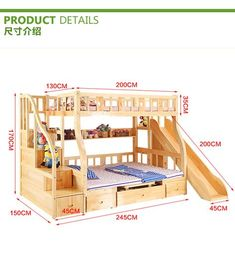 """Discover additional details on """"bunk beds for kids room"""". Look at our internet site. Cool Bunk Beds, Bunk Beds With Stairs, Kids Bunk Beds, Home Confort, Childrens Bunk Beds, Triple Bunk Beds, Bunk Bed Plans, Bunk Bed Designs, Outdoor Kitchen Design"""