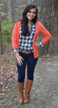 Cute pop of color for fall.