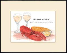 Recipe Paintings by Brenda Erickson