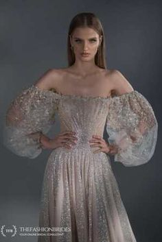 Strekoza 2020 Spring Bridal Collection – The FashionBrides Sexy Wedding Dresses, Wedding Gowns, Prom Dresses, Formal Dresses, Elegant Flowers, Gowns With Sleeves, Queen, Bridal Collection, Tulle