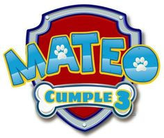 Perros Paw Patrol, Paw Patrol Names, Escudo Paw Patrol, Paw Patrol Birthday Decorations, Cumple Paw Patrol, Fiesta Mickey Mouse, Paw Patrol Party, Ideas Para Fiestas, Puppy Patrol