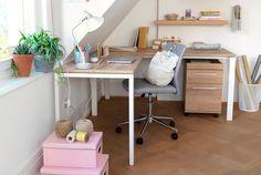 CONCEPT X Eckpult Home Office, Corner Desk, Concept, Furniture, Home Decor, Wall Shelves, Arredamento, Bedroom, Projects