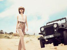 ELLE Kazakhstan April 2017 Djaja Baecke by Daniela Rettore - Fashion Editorials