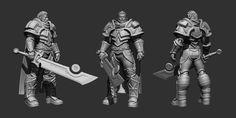 ArtStation - Blizzard Fan Art Tirion Fordring, Patrick CN Wong