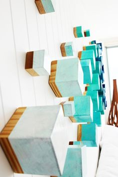 Image of Wood Wall Sculpture | Modern Wall Decor | 3D Wall Art | Original Art | Rosemary Pierce Modern Art