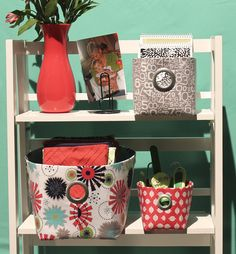 Fabric Bin Tutorial with Nancy Zieman | Sew Mama Sew | Outstanding sewing, quilting, and needlework tutorials since 2005.