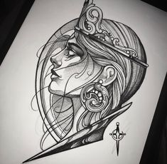 Tattoo Design Drawings, Tattoo Sketches, Art Sketches, Art Drawings, Tattoo Designs, Thumb Tattoos, Head Tattoos, Body Art Tattoos, Sleeve Tattoos