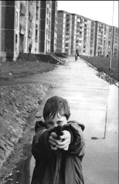 Martine Franck Ballymun, a suburb of Dublin.