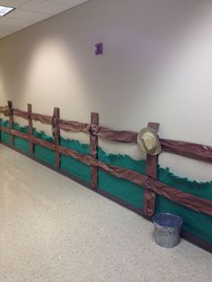 1st grade  Fence line we can add christmas decor