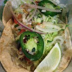 Tacos al Asador - Koreatown Best Restaurants In Toronto, Unique Recipes, Ethnic Recipes, Tacos, Food Photo, Foodies, Canada, Blue, Gourmet