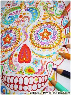 39 best Cinco demayo images on Pinterest | Mexican skulls, Skulls ...