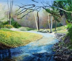 How to Paint Streams in Watercolor