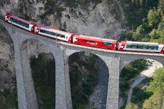 Bergen, Holidays To Switzerland, Switzerland Vacation, Glacier Express Switzerland, Bernina Express, Scenic Train Rides, Andermatt, St Moritz, Swiss Railways