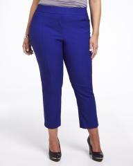 cropped solid pant | Shop Online at Addition Elle