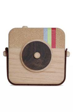Cámara de fotos de #madera #juguetes