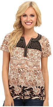 found this for you  -- Lucky Brand Kyra Studded Yoke Top  -- http://www.hagglekat.com/lucky-brand-kyra-studded-yoke-top/