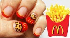 McDonald's Fries Nails