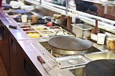 Walk by Profi's Creperie at the Reading Terminal Market around lunchtime and the smell might make you stop in your tracks.