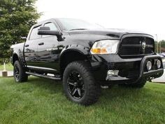 2012 Ram 1500 Rocky Ridge Black Phantom Lifted Truck.