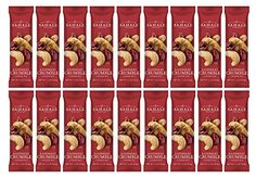 Sahale Snacks All Natural Nut Blends Grab And Go Variety Pack Choose from 12 Pack and 18 Pack (Raspberry Crumble Cashew (18 Pack)) >>> You can get additional details at the image link.