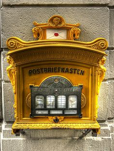 Postbox anno 1896 by eugenz Tags mailbox, postbox, post box, letterbox, letter…