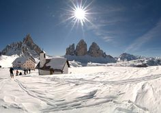 Hochpustertal, TransDolomiti-NordicSki-Route (3-4days) from Obertilliach to Cortina d'Ampezzo.