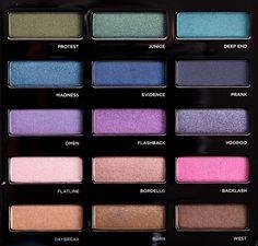 Urban Decay - Urban Spectrum Eyeshadow Palette | $55 | Source: temptalia.com