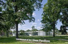 Glass Pavilion at the Toledo Museum of Art / SANAA,© Iwan Baan