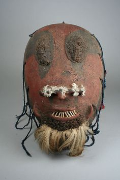 Mask Date: 19th–20th century Geography: Nigeria