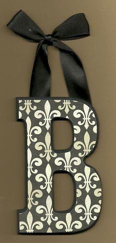 30OFFORDER  Fleur De Lis Letters  OTHER DESIGNS by BrooklynHilts, $8.00