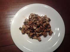 La mia cucina facile: Seitan radicchio e funghi