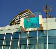 Funny pictures about Balcony Pool. Oh, and cool pics about Balcony Pool. Also, Balcony Pool photos. Hotel Swimming Pool, Hotel Pool, Dubai Hotel, Dubai Uae, Dubai Trip, Dubai Travel, Swimming Holes, Amazing Architecture, Architecture Design