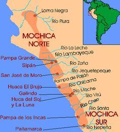 Mapa Cultura Mochica