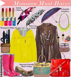 ::Dressing-Up For The Rains:: #MonsoonFashion #Style #Rains  http://fashion-opolis.blogspot.com/