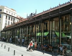 Mercado São Miguel Madri