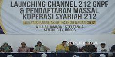 Alhamdulillah.... Ust Bachtiar Nasir Resmikan Koperasi Syariah dan Channel 212