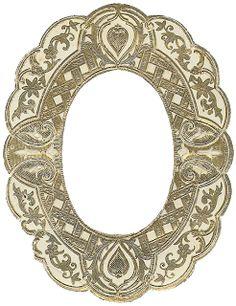 The Sum Of All Crafts: Vintage Foil Frame