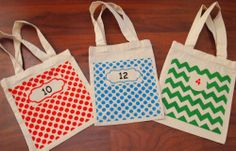 Create your own classroom set of book bags! Great for Daily 5 and take home book bins! Check out the etsy site!